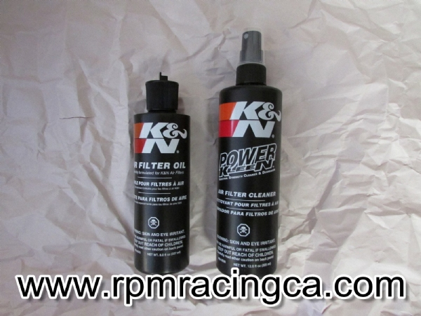 K&N Recharge Kit (Squeeze Bottle)