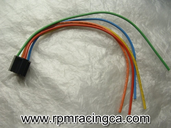 Connector Socket; 5 Pin Relay on